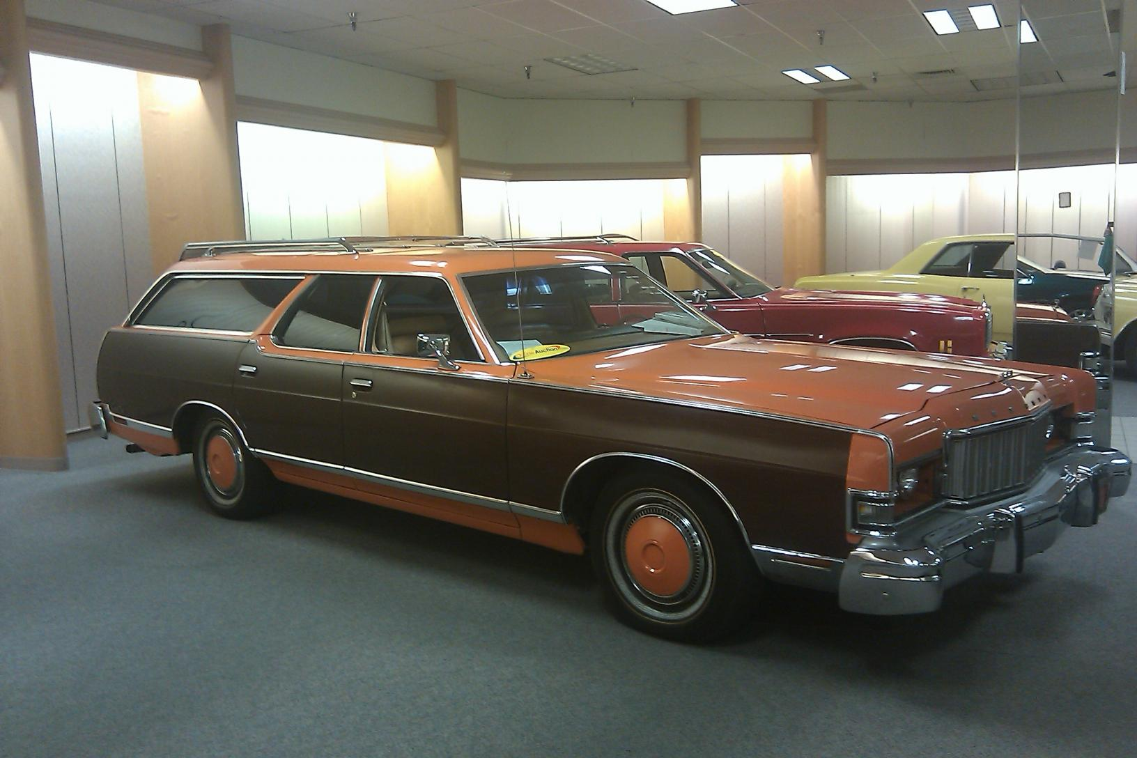 1974 Mercury Grand Marquis Colony Park Wagon