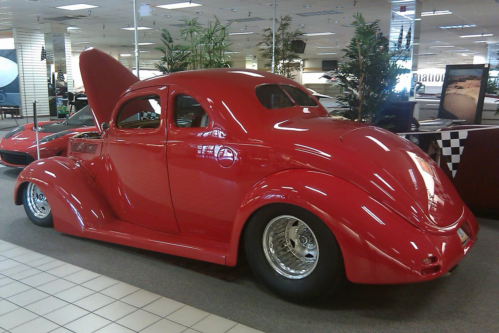 1937 Ford Pro Street 5 Window Business Coupe