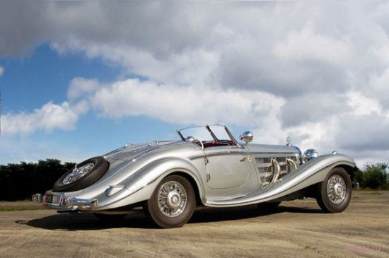 Mercedes-Benz(мерседес- бенс) 540K Special Roadster 1937 года, $8,252 млн.